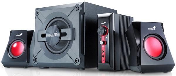 Genius SW-G2.1 1250, sistema estéreo, para videojuegos de última generación