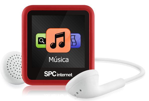 SPCinternet 823, lectores MP4 superfinos para música y vídeos