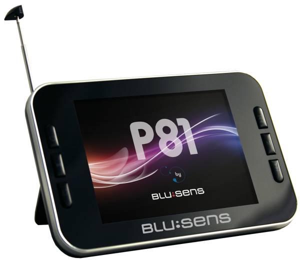 Blusens P81, un reproductor MP5 con pantalla lcd de 3,5 pulgadas