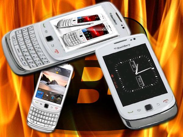 BlackBerry Torch 9800 en blanco, este móvil BlackBerry llegará al catálogo de Orange en mayo