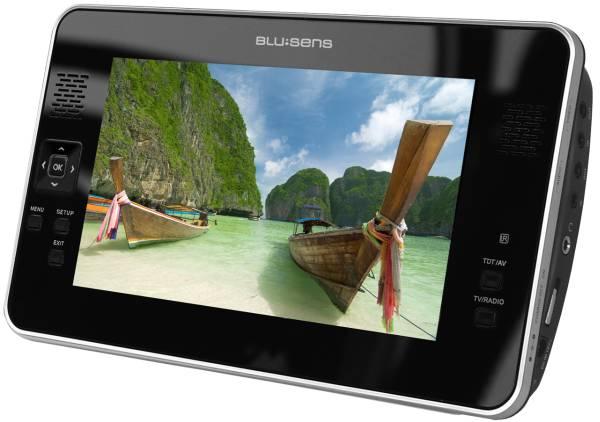 Blusens H70 y P63, un televisor LCD y un reproductor DVD para el ocio móvil