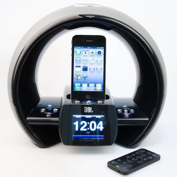 jbl on air wireless sistema de altavoces para ipod con airplay. Black Bedroom Furniture Sets. Home Design Ideas