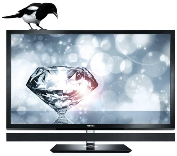 Toshiba REGZA 55ZL1, televisor con nuevo procesador de imagen de 7 núcleos