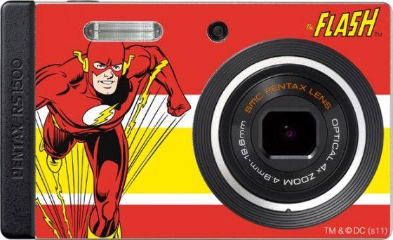 Pentax OPTIO RS1500, cámara de fotos compacta muy llamativa y edición especial sorprendente
