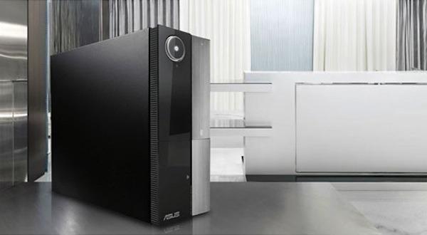 Asus p6 m4a3000e un ordenador multimedia de sal n - Ordenador para salon ...