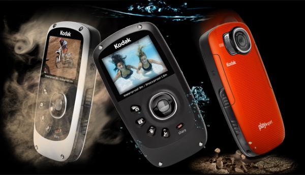 Kodak PlaySport Zx5, videocámara acuática de bolsillo en Full HD