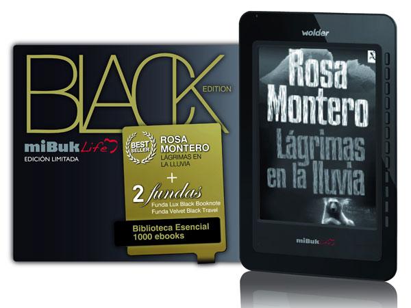 Wolder Mibuk Life Black Edition, nuevo lector de libros electrónicos con un aspecto muy cuidado