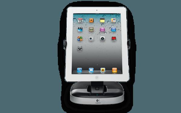 Logitech Speaker Stand para iPad, un soporte pedestal que potencia el sonido de la tablet