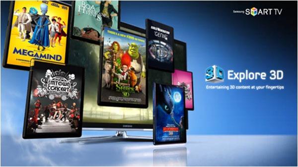 Samsung Explore 3D, servicio gratuito de vídeo 3D a la carta de Samsung