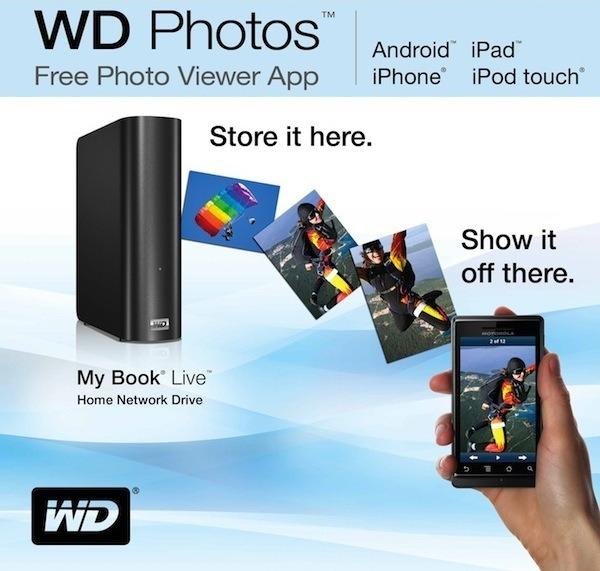 WD Photos, el nuevo centro multimedia entre teléfonos y Western Digital