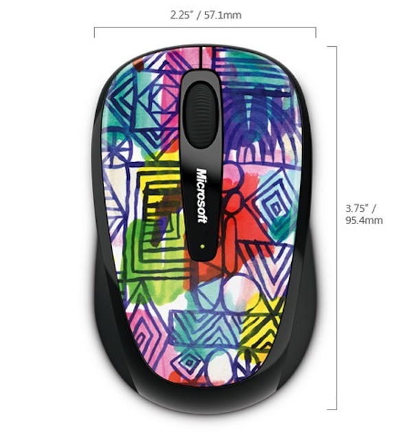 Microsoft Mobile Mouse 3500 Artist Edition, ratones diseñados por artistas
