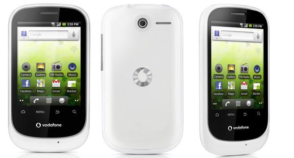 Vodafone Smart 858, móvil prepago de Vodafone con Android de Google