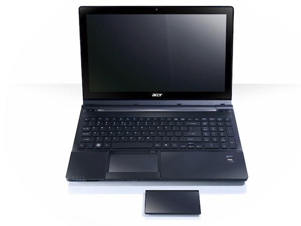 Acer Aspire Ethos 8951G, un portátil de gran pantalla con un ratón que se puede quitar