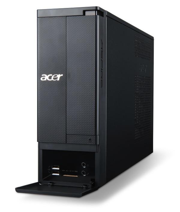 Acer Aspire X, al sobremesa básico también se le añade potencia