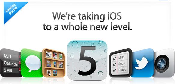 iOS 5 para iPhone, iPod y iPad, características y funciones del nuevo sistema de iconos de Apple
