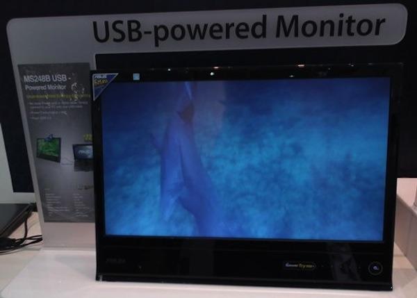 Asus MS248B, un monitor de 24 pulgadas que funciona gracias al USB 3.0