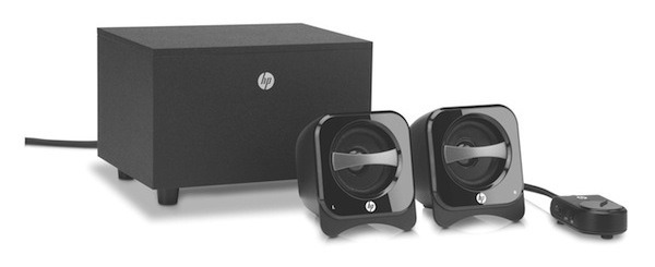 HP Multimedia Speakers 2.0 y HP 2.1 Compact Speaker System, sonido de alta calidad