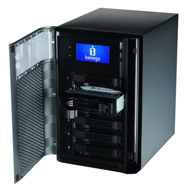 Iomega StorCenter px4-300d, almacenamiento masivo para profesionales y PYMES