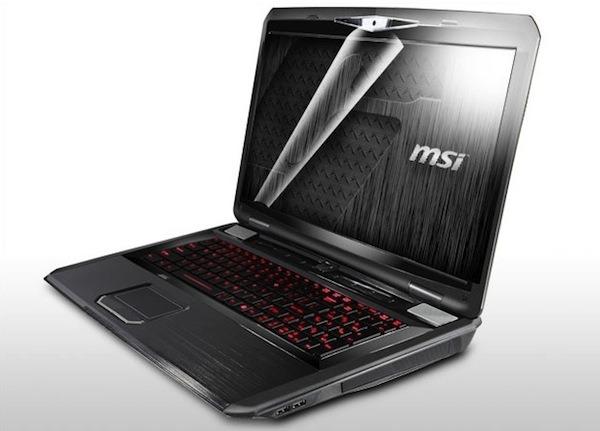 MSI GT780R, un ordenador de 17 pulgadas, Core i7 y teclado que se ilumina