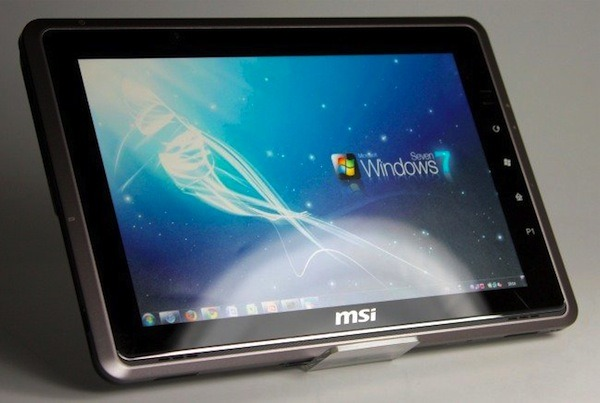MSI WindPad 110W, la tableta con Windows 7 mejorada con más potencia
