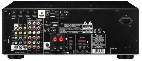 Pioneer vsx 521 cine en casa para salones peque os y medianos - Equipo musica casa ...