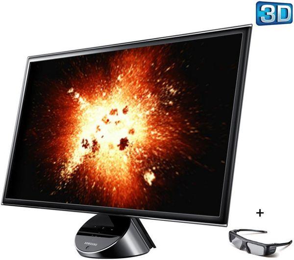 Samsung Serie 7 monitor 3D, todo sobre el Samsung serie 7 con fotos, vídeos y opiniones