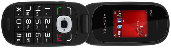 Alcatel One Touch OT-665, un móvil sencillo, práctico y económico