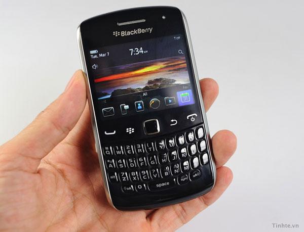 BlackBerry Curve 9370, imágenes y características del nuevo móvil profesional BlackBerry