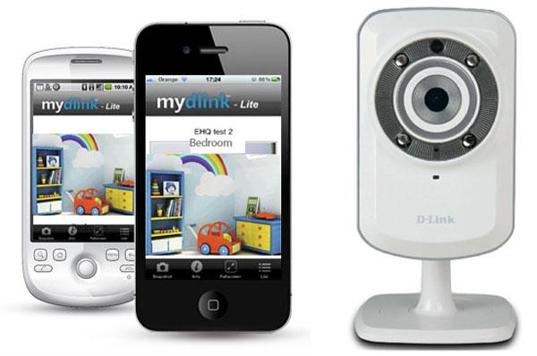 D-Link, videovigilancia doméstica con el servicio gratuito Mydlink