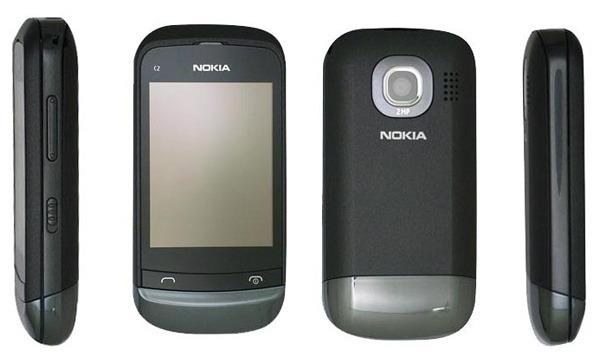 Nokia C2-06 Touch and Type Dual SIM, dos líneas de móvil en el mismo teléfono