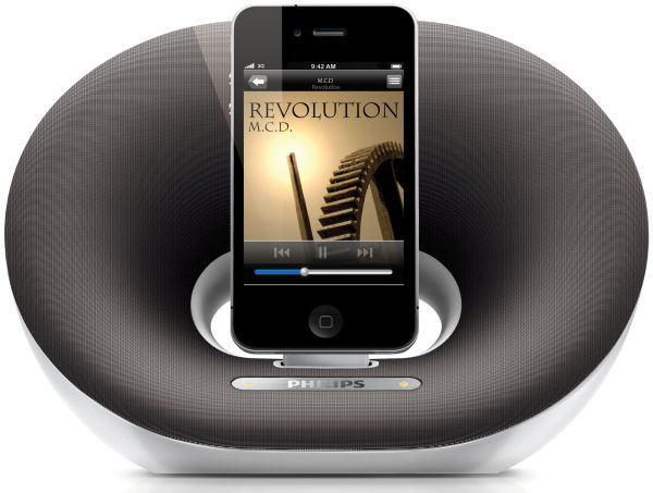 Philips Fidelio DS3020, unos altavoces para iPod para espacios reducidos