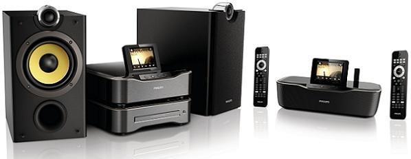 Phillips wms8080 m sica por toda la casa con conexi n wifi - Equipo musica casa ...
