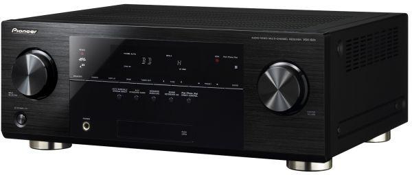 Pioneer VSX-821, amplificador multicanal, con conexión directa para iPod, iPhone e iPad 3
