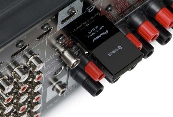 Pioneer VSX-821, amplificador multicanal, con conexión directa para iPod, iPhone e iPad