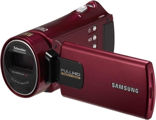 Samsung HMX-H300RP, videocámara compacta Full HD