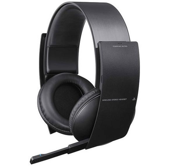 Sony Wireless Stereo Headset, auriculares para PS3 con sonido envolvente