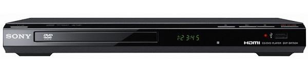 Sony DVP-SR750H, un reproductor DVD que permite grabar en un lápiz USB