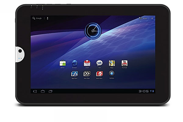 Toshiba Thrive, tablet de Toshiba con Android Honeycomb