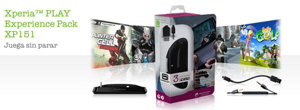 Sony Ericsson Xperia Play, la compañía anuncia el Experience Pack XP151 para este móvil