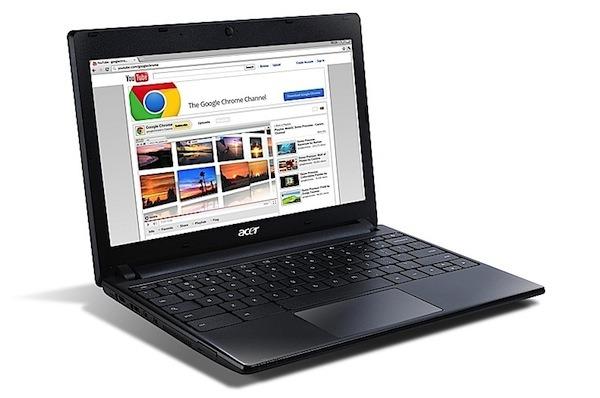 Acer Chromebook AC700, un ligero portátil que aparecerá con 3G este verano