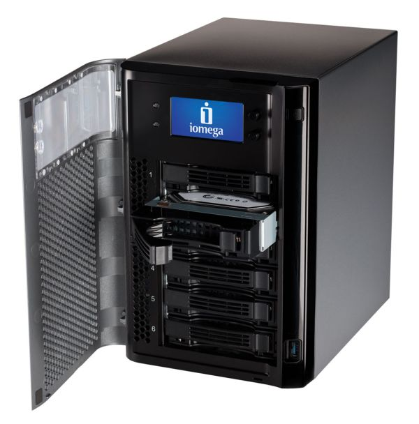 Iomega Storcenter PX6-300D, llega el almacenamiento masivo sencillo