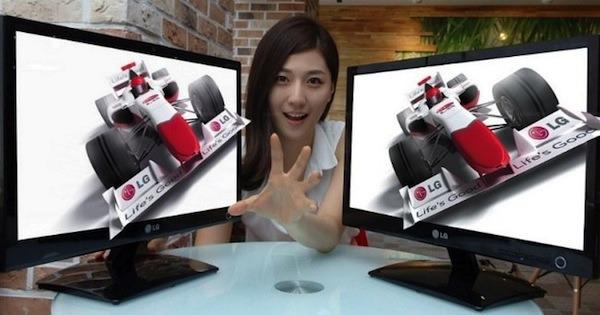 LG DX2000, un monitor LED que te sigue la mirada para mejorar el 3D