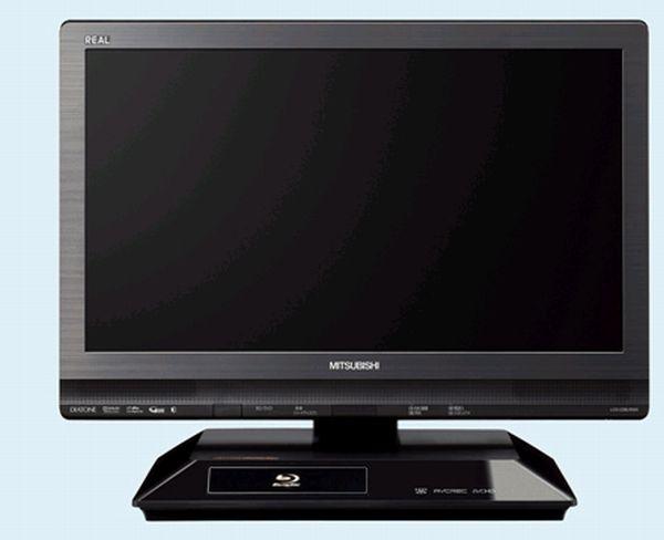 Mitsubishi Real LCD-22BLR500, televisor de 22 pulgadas con Blu-ray y disco duro