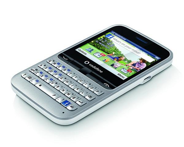 Vodafone 555 Blue, el primer móvil de prepago con Facebook integrado