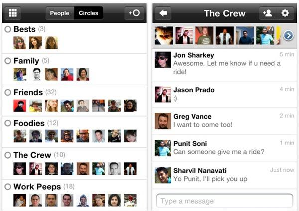 Google + iPhone, ya está disponible la aplicación de Google+ para iPhone
