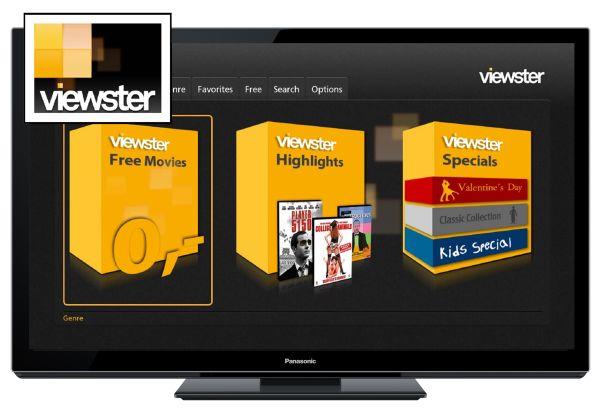 Panasonic amplía su plataforma Viera Connect con el vídeo bajo demanda de Viewster