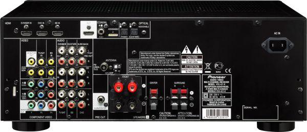 Pioneer VSX-421, el amplificador de cine más economico del catálogo 4