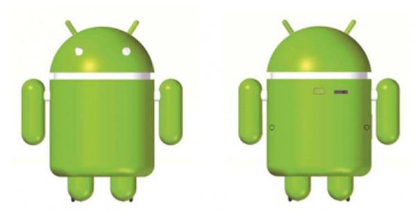 Robot Android, un robot que avisa sobre la batería y los SMS a los móviles Android