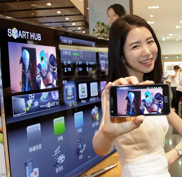 Smart View de Samsung, la tele en la pantalla del móvil o del MP3