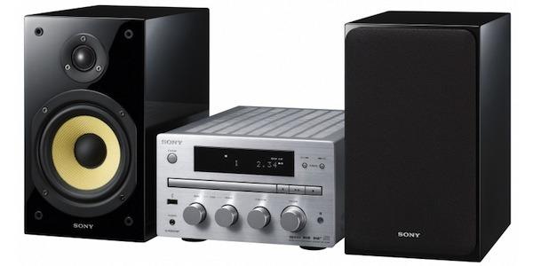 Sony CMT-G1P, minicadena con puerto USB y compatible MP3 pero sin WiFi